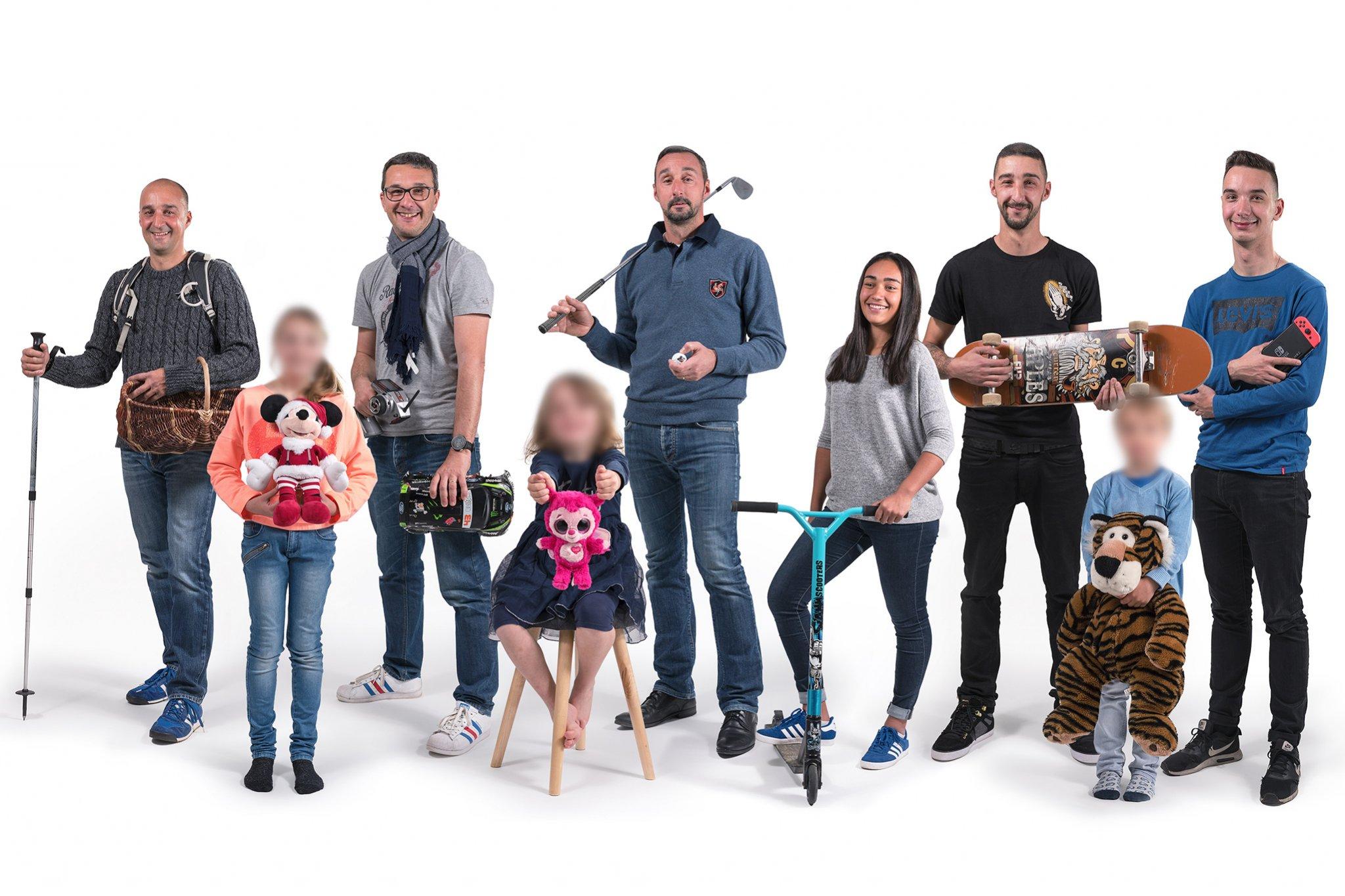 Photographe Lyon Villeurbanne - portrait famille groupe