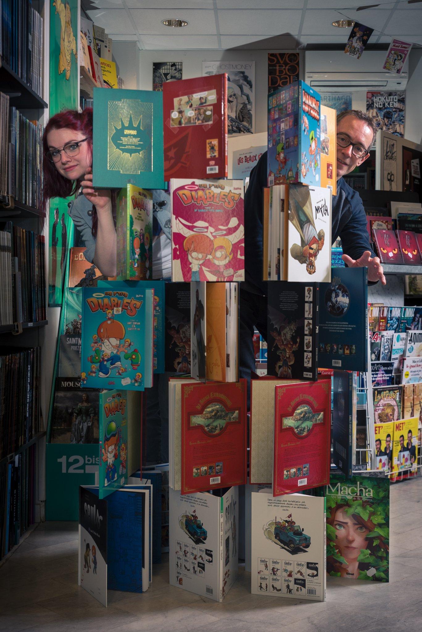 Photographe Lyon Villeurbanne - portrait professionnel artisan commerçant entreprise - Floriane et Jean-Marc - Expérience Bis - Gratte-Ciel