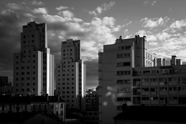 Photographe Lyon Villeurbanne - paysage Gratte-Ciel
