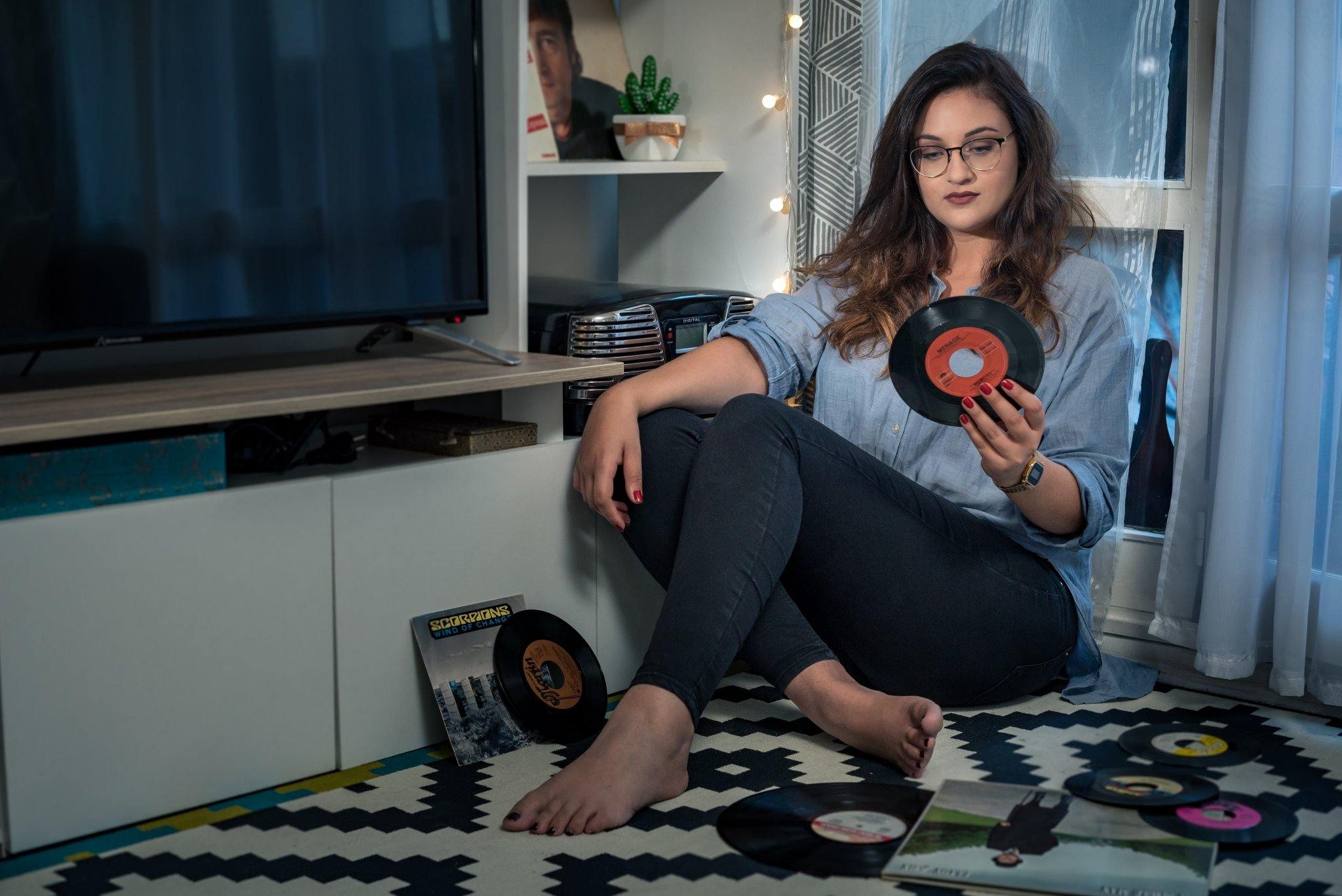 Photographe Professionnel Lyon Villeurbanne - portrait Marianne lifestyle domicile