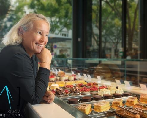 Photographe Lyon Villeurbanne - portrait professionnel artisan commerçant entreprise - Corinne Bettant - La Maison Bettant - Gratte-Ciel