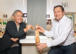 Photographe Lyon Villeurbanne - portrait professionnel artisan commerçant entreprise - Corinne et François Bettant - La Maison Bettant - Gratte-Ciel