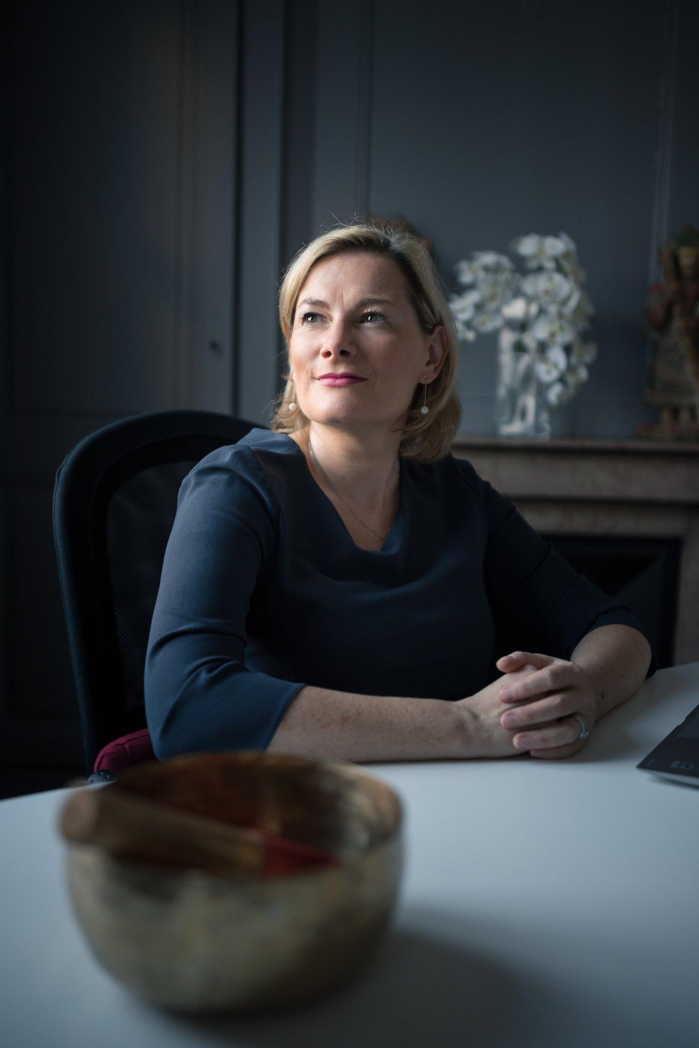 Photographe Lyon Villeurbanne - portrait entrepreneur gérant communication corporate - Sandrine Tolegano Jourdren