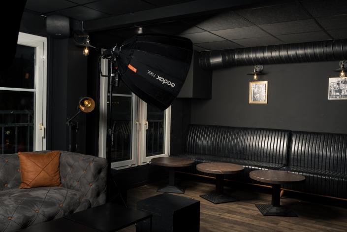 Photographe Lyon Villeurbanne - Portrait entreprise équipe Le Loop's Pub - Gratte-Ciel commerçant groupe team