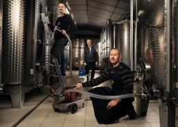Aurélien Audy - Photographe Lyon Villeurbanne - portrait vigneron entreprise communication vignoble - Domaine Luquet