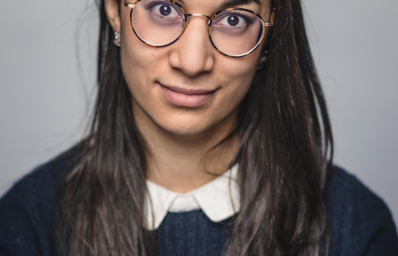 Aurélien Audy - Photographe Lyon Villeurbanne - portrait particulier linkedin CV - Chérine