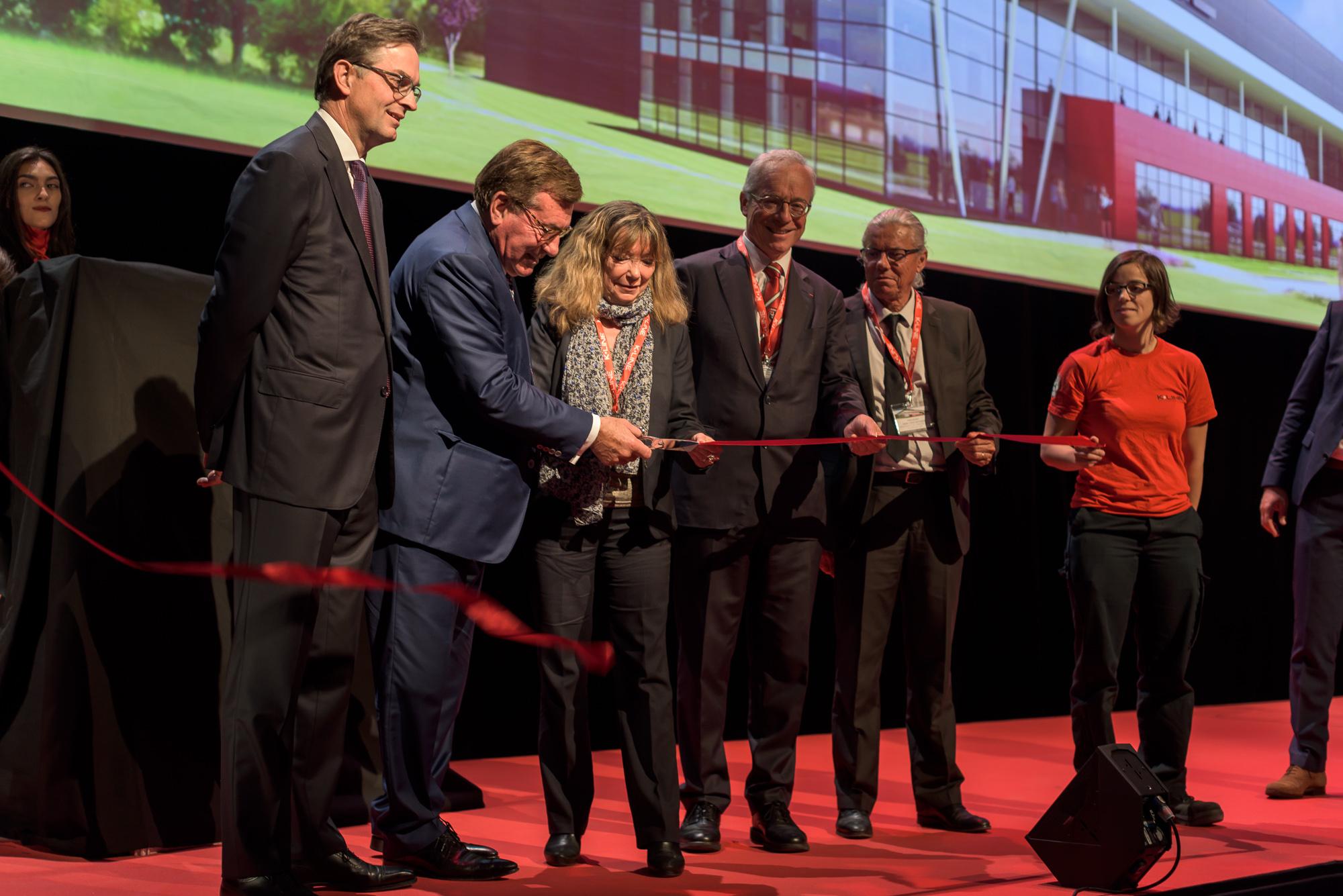 Aurélien AUDY - photographe Lyon Villeurbanne - reportage événementiel inauguration