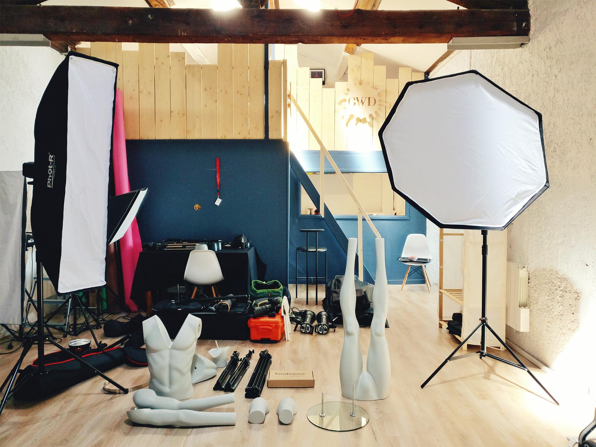 Aurélien AUDY - photographe Lyon Villeurbanne - shooting packshot textile studio ghost - Robur