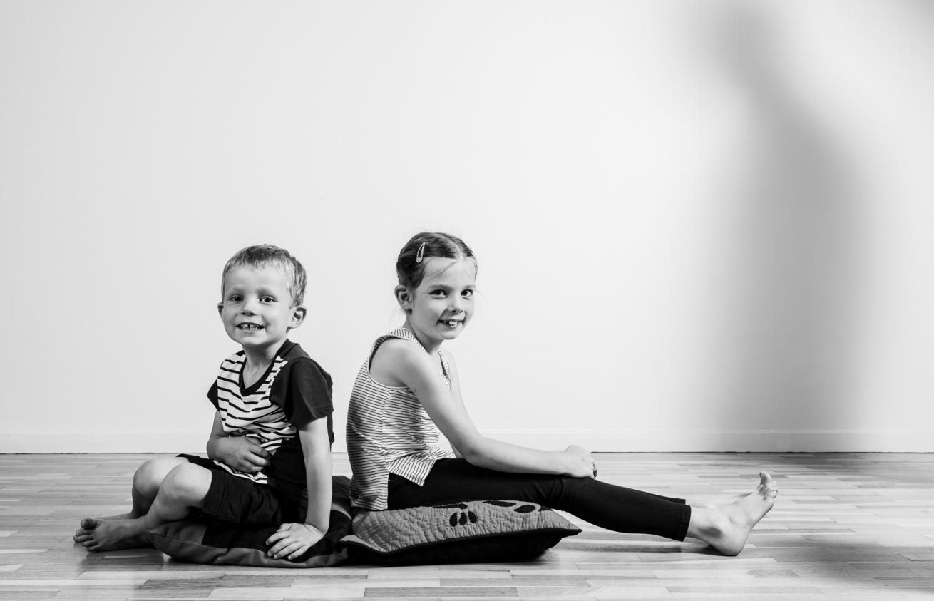 Aurélien AUDY - photographe portrait Lyon - séance famille indoor