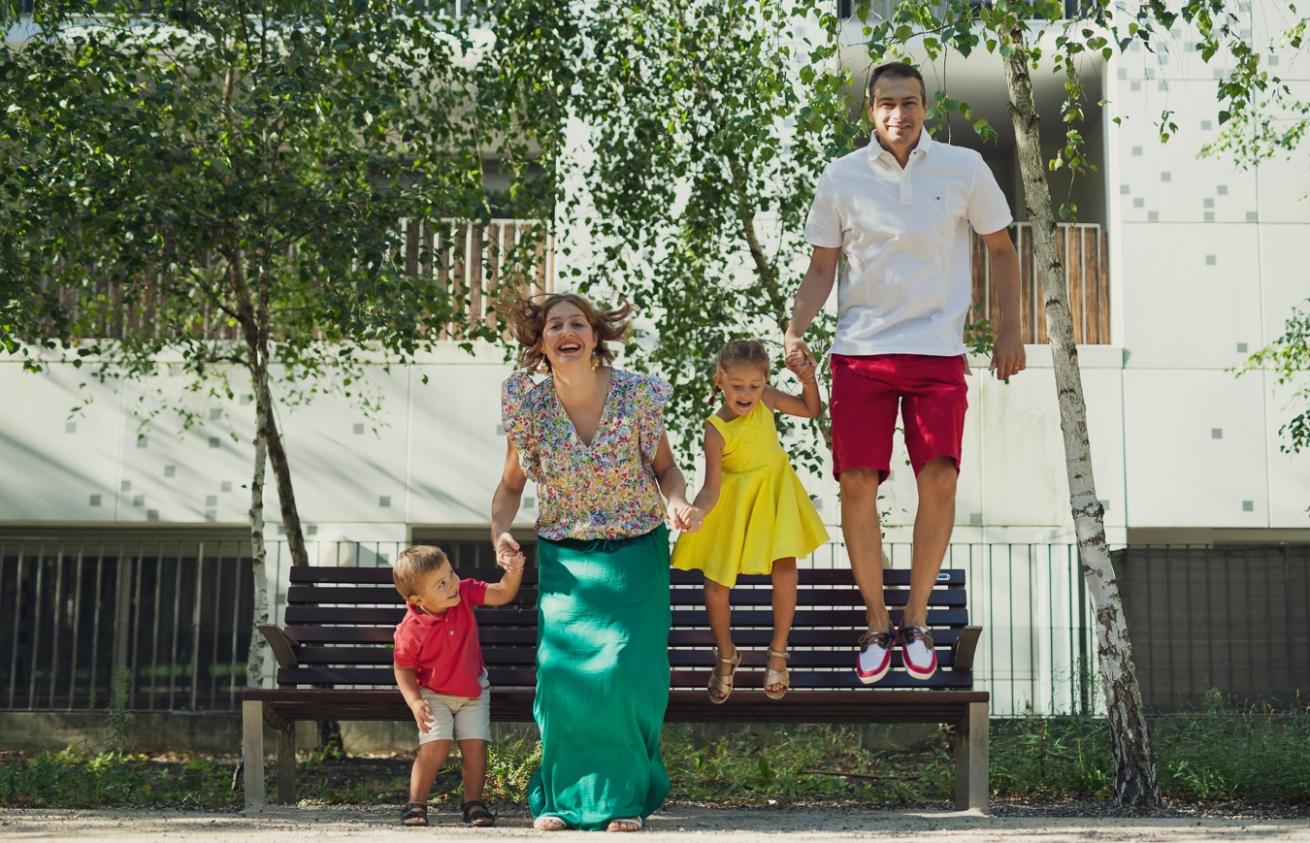 Aurélien AUDY - photographe portrait Lyon - séance famille extérieur