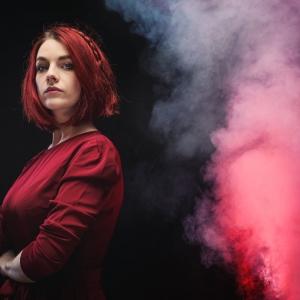 Aurélien AUDY-photographe-portrait-Lyon-smoke-Floriane-book-collaboration