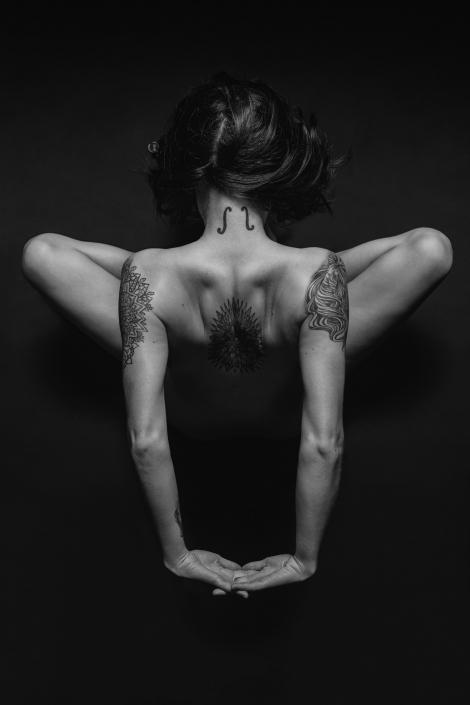 Aurélien AUDY Photographe Lyon - projet perso nu artistique book