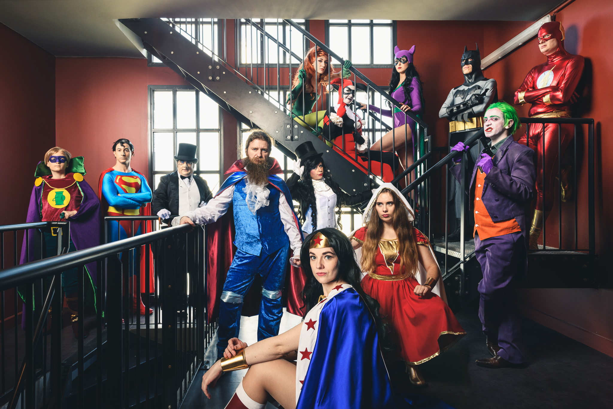 Aurélien AUDY - Photographe Lyon - book cosplay projet perso TNP
