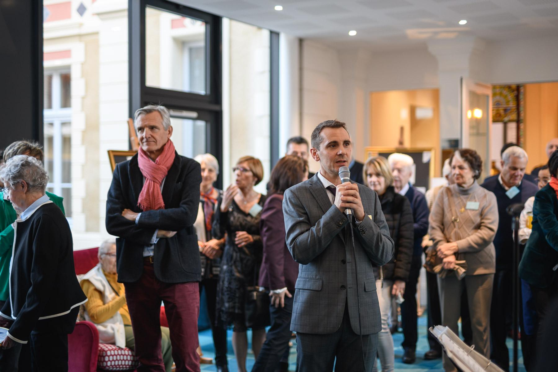 Aurélien AUDY - photographe Lyon - reportage inauguration villa beausoleil événement