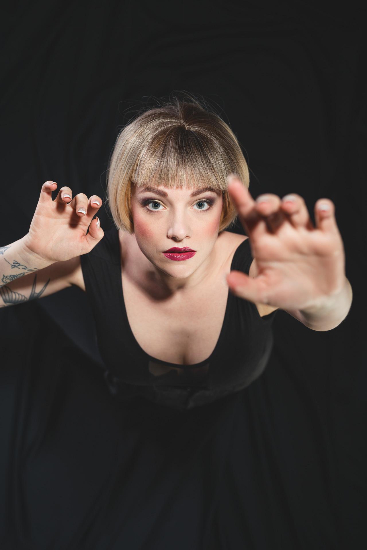 Aurélien AUDY Photographe Lyon - portrait makeup projet artistique